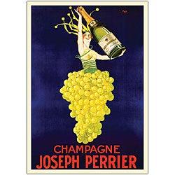 'Champagne Joseph Perrier' Canvas Art