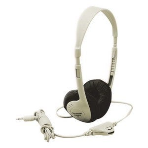Califone Multimedia Stereo Headp Wired Beige Clr Via Ergoguys