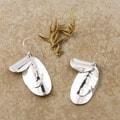 Sterling Silver Oval Chime Earrings (Mexico)
