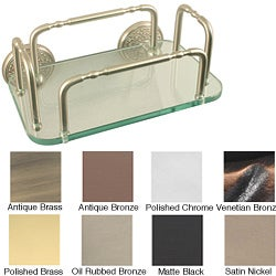 Monte Carlo Wall Mounted Guest Towel Tray Holder