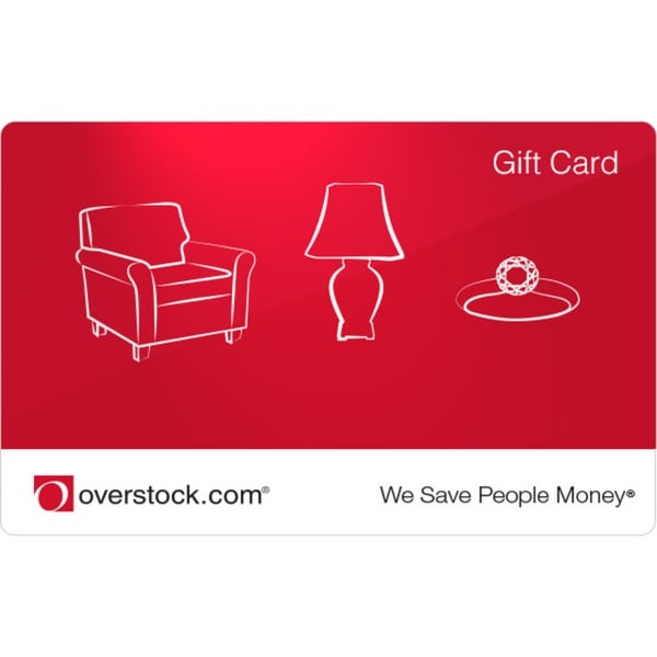 $100 Overstock.com Gift Card