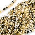 Beadaholique Czech Honey Butter Seed Beads Mix (Case of 2000)