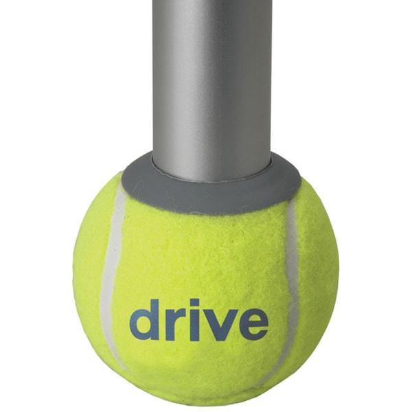 Drive Deluxe Walker Rear Tennis Ball Glides