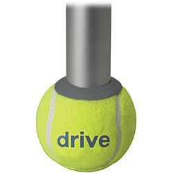 Drive Deluxe Walker Rear Tennis Ball Glides