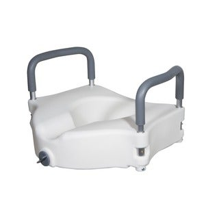 Drive Medical 2-in-1 Locking Elevated Toilet Seat