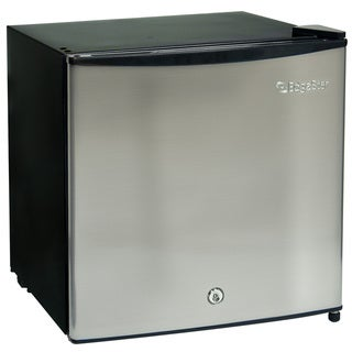 EdgeStar 1.1-cubic-foot Stainless Steel Fridge / Freezer with Lock