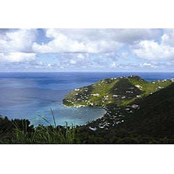 Freddi Betts 'Tortola Island' Canvas Art