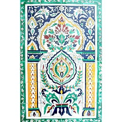 Moroccan Arch Gate Mosaic 24-tile Wall Mural