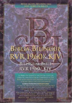 Santa Biblia Holy Bible Version Reina-Valera 1960/King James Version/Black Leather (Hardcover)