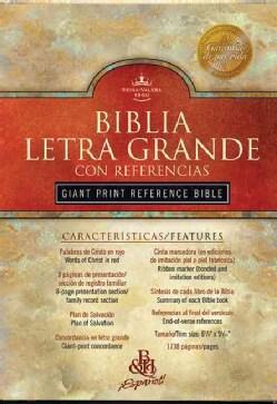 Broadman Y Holman Santa Biblia Letra Grande: Reina-Valera Revision 1960 : Black Imitation Leather (Negro) (Paperback)