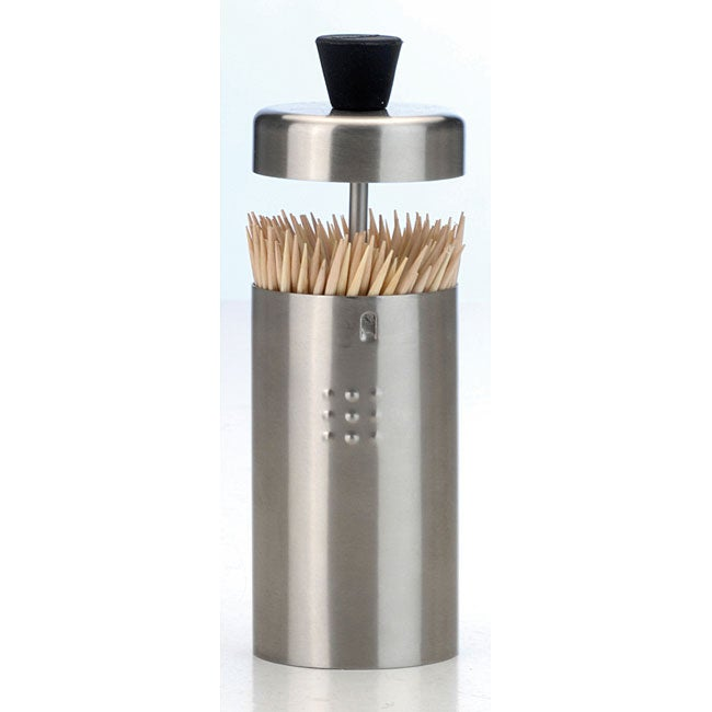 Stainless Steel Toothpick Holder 11603007 Overstock