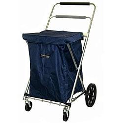 Blue Canvas Cart