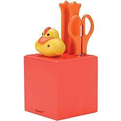 4-piece Sheriff Duck Knife Block Set
