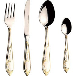 Isabella 72-piece Flatware Set