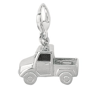Sterling Silver 'Pick-up Truck' Charm