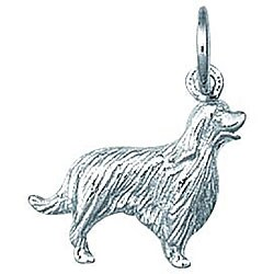 Sterling Silver Irish Setter Dog Charm