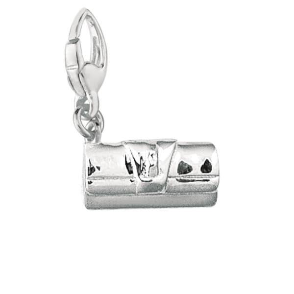 Sterling Silver Clutch Purse Charm