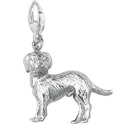 Sterling Silver Labrador Retriever Charm