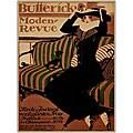 Paul Scheurich 'Buttericks Moden Revue' Framed Art