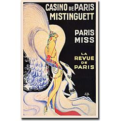 Louis Gaudin 'Casino de Paris Mistinguett' Art