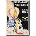 Louis Gaudin 'Casino de Paris Mistinguett' Art