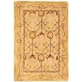 Safavieh Handmade Ancestral Tree Ivory/ Gold Wool Rug (2' x 3')