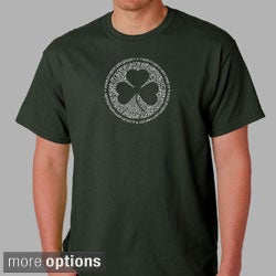 Los Angeles Pop Art Men's Irish T-shirt