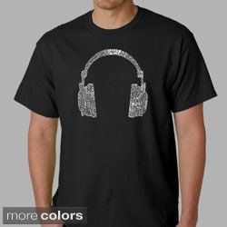 Los Angeles Pop Art Men's Headphones T-shirt
