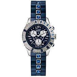 Christian Dior Christal Women's CD11431IR001 Chrono Sapphire Watch