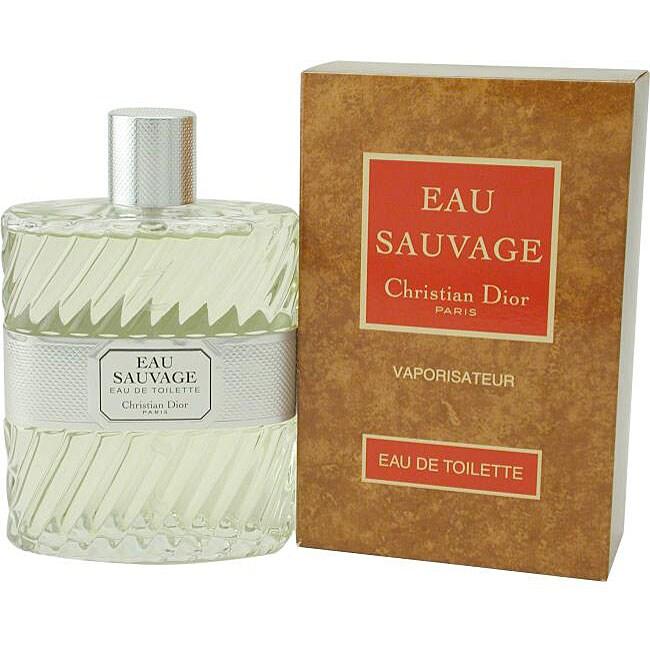 Christian Dior Eau Sauvage Men's 3.4-ounce Eau de Toilette Spray