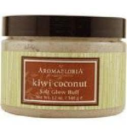 Sensory Fusion Kiwi Coconut by Aroma 12-ounce Salt Glow Buff