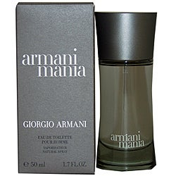 Giorgio Armani 'Mania' Men's 1.7-ounce Eau de Toilette Spray