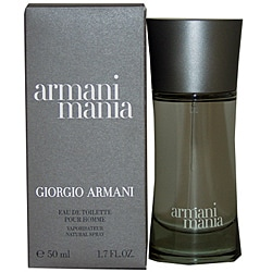 Giorgio Armani Mania Men's 1.7-ounce Eau de Toilette Spray