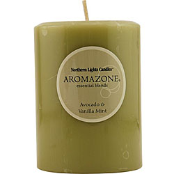 Essential Avocado and Vanilla Mint Candle