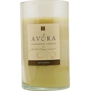 Mysteria Scented 3x6-inch Glass Pillar Scented Candle