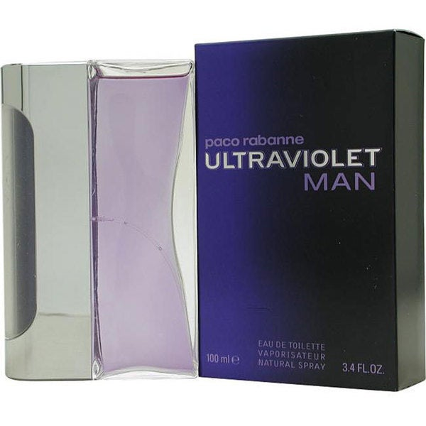 Ultraviolet by Paco Rabanne Men's 3.4-ounce Eau de Toilette Spray