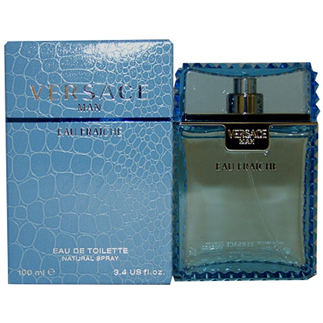 Versace 'Man Eau Fraiche' Men's 3.3-ounce Eau de Toilette Spray