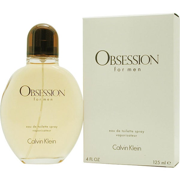 Calvin Klein Obsession Men's 4-ounce Eau de Toilette Spray