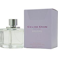Belong by Celine Dion Women's 3.4-ounce Eau de Toilette Spray
