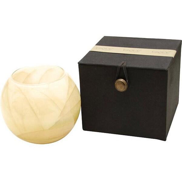 Ivory Globe Candle