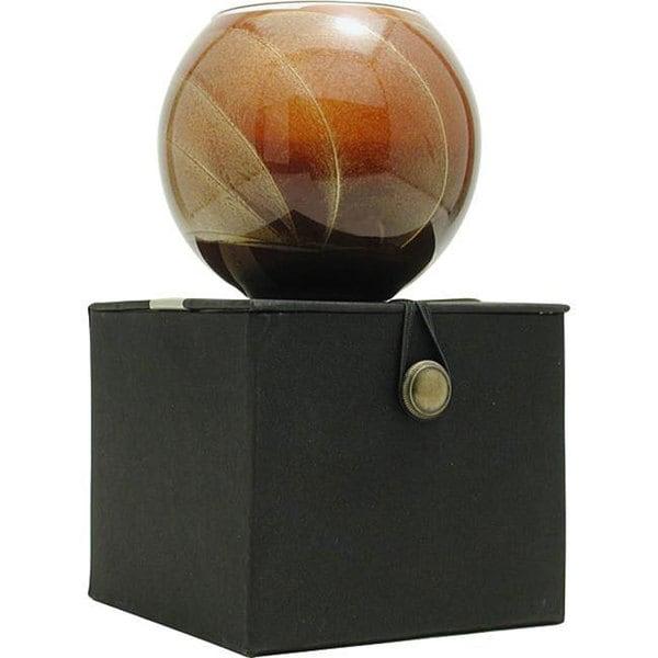 Mahogany Candle Globe Candle