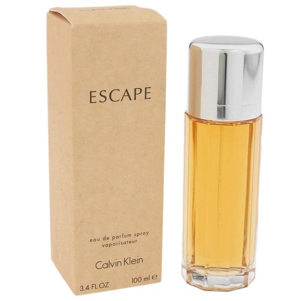 Calvin Klein Escape Women's 3.4-ounce Eau de Parfum Spray Bottle