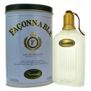 Faconnable Men's 3.3-ounce Eau de Toilette Spray