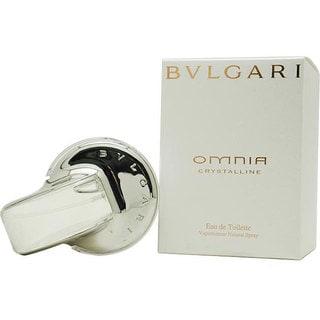 Omnia Crystalline by Bvlgari - Eau de Toilette de mujer, en spray, 2.2 oz