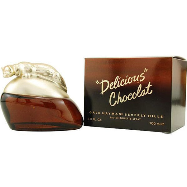 Delicious Chocolat Women's 3.3-ounce Eau de Toilette Spray