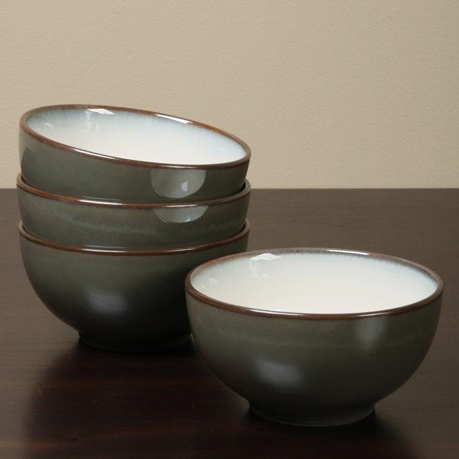 Sango Concepts Avocado 4-piece Ice Cream Bowl Set