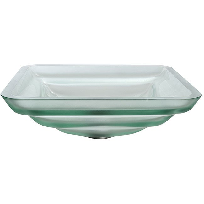 Kraus Oceania Frosted Glass Vessel Sink