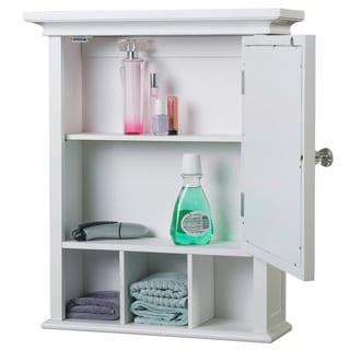 Stripe Wood Medicine Cabinet