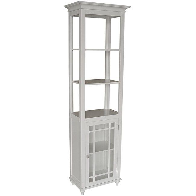 White Stripe Linen Tower