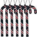 Boston Red Sox Candy Cane Ornament Set